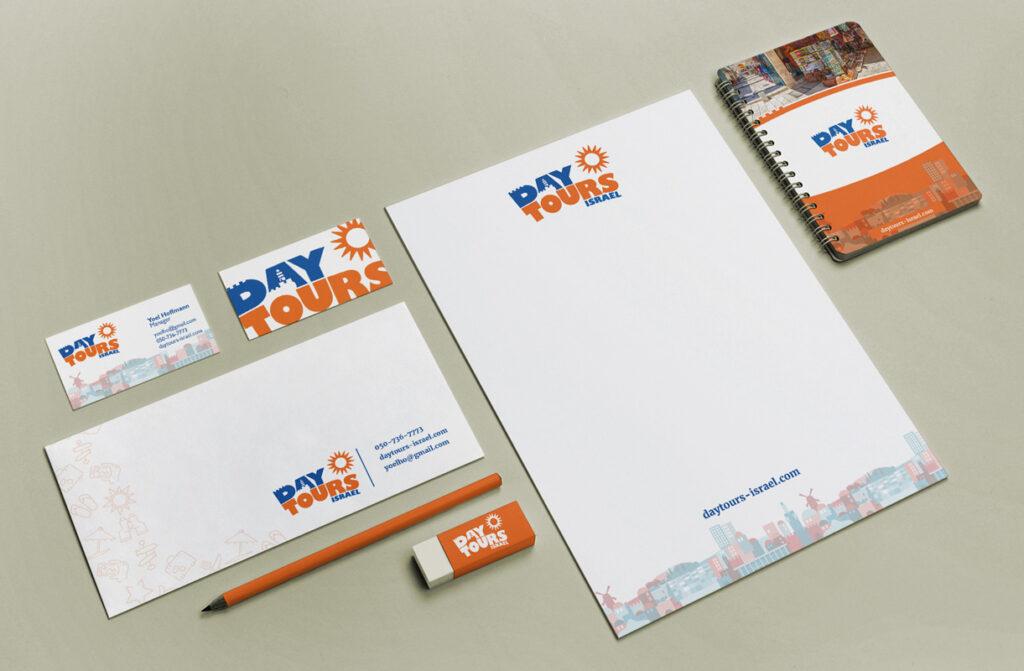 מיתוג ועיצוב ניירת משרדית